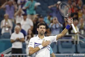 Miami Open: Djokovic dọa 'nghỉ chơi' trong trận thắng Delbonis