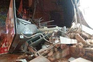 Ngôi nhà trên phố kinh doanh đắt đỏ nhất thành phố Thanh Hóa bị đổ sập