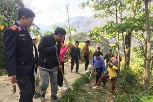Tuổi trẻ VKSND huyện Si Ma Cai với phong trào thanh niên tình nguyện