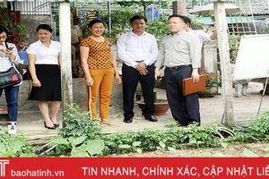 Khảo sát lựa chọn mô hình 'Làng mới' kiểu mẫu tại Hà Tĩnh