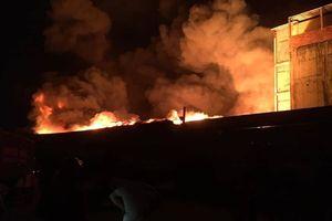 Cháy lớn tại kho chứa dầu ven TP.HCM: Công an thông tin chính thức
