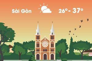Thời tiết ngày 26/3: Sài Gòn nắng nóng gay gắt 37 độ C