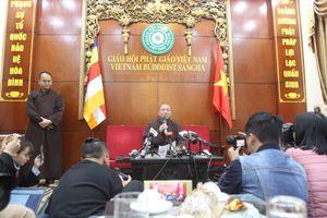 Đề xuất tạm đình chỉ chức vụ, chờ cách chức theo đúng quy trình đối với trụ trì Chùa Ba Vàng