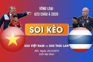 Soi kèo U23 Việt Nam vs U23 Thái Lan U23 Châu Á: Mệnh lệnh phải thắng