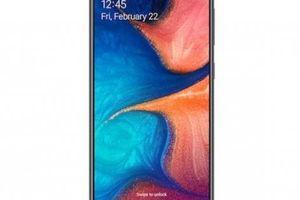 Samsung Galaxy A20 lên kệ với camera góc rộng 123 độ, giá 4,2 triệu đồng