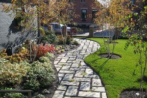 Ý tưởng thiết kế gạch lát sân vườn, vỉa hè rẻ, đẹp chẳng thể ngờ