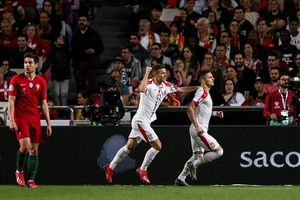 Ronaldo gặp chấn thương, Bồ Đào Nha hòa thất vọng trước Serbia