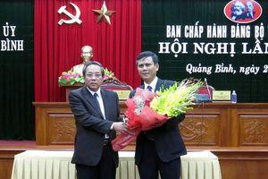 Ông Trần Thắng được bầu giữ chức vụ Phó Bí thư tỉnh ủy Quảng Bình