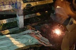 Một cô gái bị tàu hỏa đâm văng xa 30m tử vong tại chỗ