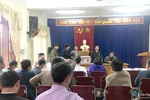 Tân Kỳ bầu chức danh Chủ tịch Hội Cựu chiến binh huyện