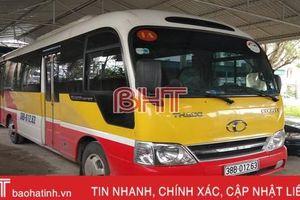 Vừa được thả ít ngày, xe buýt 'nhái' lại bị bắt giữ