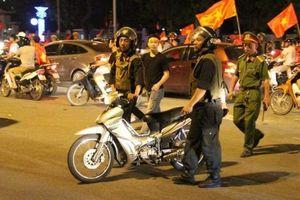 Cảnh sát Hà Nội sẵn sàng chống đua xe sau U23 Việt Nam thắng đậm Thái Lan