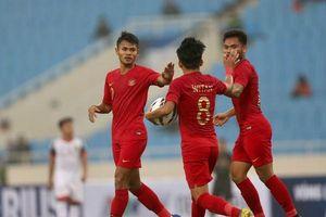 Truyền thông Indonesia 'nghi ngờ' đội nhà diễn kịch trước U23 Brunei