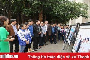 Khai mạc Triển lãm trưng bày tư liệu 'Hoàng Sa, Trường Sa của Việt Nam - Những bằng chứng lịch sử và pháp lý' tại huyện Nông Cống