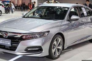 Honda Accord 1.5L Turbo và Hybrid 2019 được trưng bày tại Triển lãm Bangkok 2019