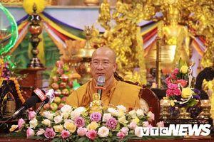 Đại đức Thích Trúc Thái Minh vẫn giữ chức vụ Trụ trì chùa Ba Vàng