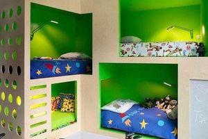 Thiết kế giường tầng đa năng: Món đồ tuyệt vời giúp bạn tiết kiệm không gian phòng ngủ phù hợp cho cả người lớn và trẻ nhỏ