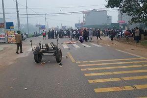 Vụ 7 người đám tang bị tông chết: Xe khách chạy sai lộ trình?