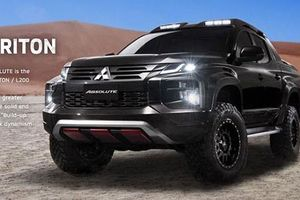 Bán tải Mitsubishi Triton Absolute 'đối thủ' Ford Ranger Raptor