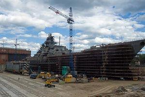 Tàu tuần dương hạt nhân hạng nặng của Nga sẽ được trang bị kho vũ khí tên lửa
