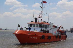Nghiệm thu kỹ thuật cấp cơ sở 2 tàu tuần tra cứu hộ cứu nạn CN-09 HCM