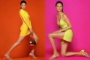 Say đắm đường cong tuyệt mỹ của siêu mẫu Adriana Lima