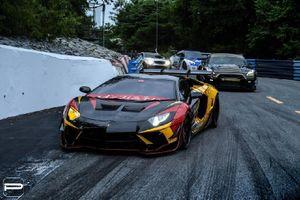 Lamborghini Aventador 'thả dáng' với bodykit sặc sỡ từ Liberty Walk