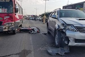 Tai nạn liên hoàn trên đường dẫn cao tốc, 1 người tử vong
