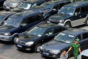 Rà soát, xác định số lượng xe ô tô công đúng tiêu chuẩn, định mức
