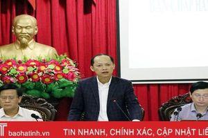 Thành phố Hà Tĩnh tăng tốc thực hiện nhiệm vụ phát triển quý II/2019
