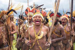 Bộ lạc 'xác sống', xương người ghê rợn ở Papua New Guinea