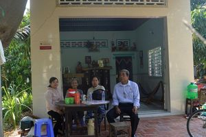 Nhiều hộ nghèo huyện Cao Lãnh được an cư từ chương trình xóa nhà tạm