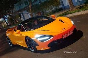 Gặp McLaren 720S màu cam duy nhất Việt Nam dạo phố Sài Gòn