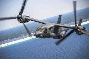 Nhật sẽ dùng 'chim ưng biển' CV-22 cho nhiệm vụ cứu hộ nguy hiểm