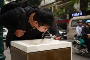 Hà Nội lắp vòi uống nước sạch miễn phí cho người dân, du khách