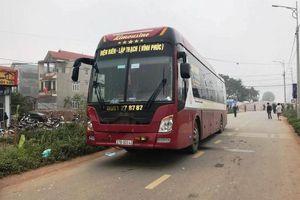 Lái xe khách gây tai nạn ở Vĩnh Phúc âm tính với ma túy