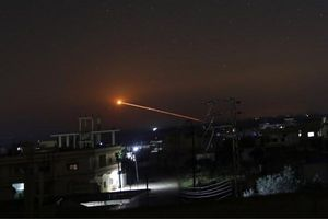 Báo Nga: Phòng không Syria đánh bật một loạt tên lửa Israel ra khỏi mục tiêu