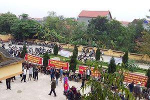 Hải Dương: Hàng trăm người dân 'vây' UBND xã, phản đối xây dựng nhà máy rác ngàn tỷ
