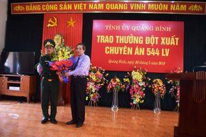 Khen thưởng BĐBP Quảng Bình phá thành công đường dây ma túy xuyên quốc gia