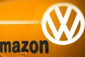 Volkswagen hợp tác với Amazon để cải thiện hoạt động sản xuất