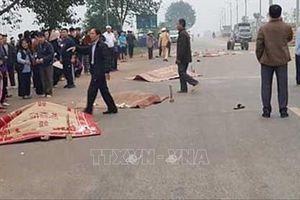 Khởi tố vụ xe khách đâm vào đoàn đưa tang khiến 7 người chết ở Vĩnh Phúc