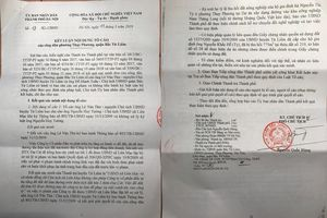 Chủ tịch Hà Nội kết luận: Người dân tố cáo Chủ tịch UBND quận Bắc Từ Liêm bao che cho sai phạm là có cơ sở