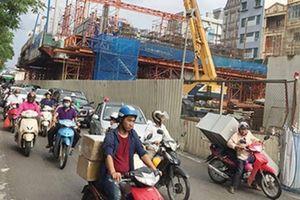 Hà Nội yêu cầu nhà thầu tuyến Nhổn - ga Hà Nội sửa ngay mặt đường xuống cấp