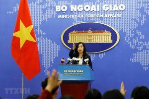 Yêu cầu Trung Quốc tôn trọng chủ quyền của Việt Nam đối với hai quần đảo Hoàng Sa và Trường Sa