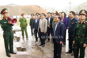 Đoàn giám sát của Quốc hội làm việc với Công ty tnhh mtv Hóa chất 21 về pccc