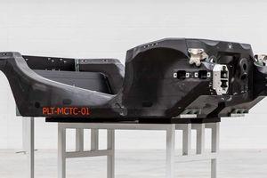 Khung xe thế hệ mới của Mclaren chính thức xuất xưởng