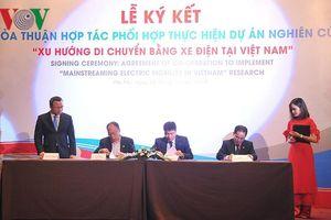 Honda Việt Nam tài trợ 180 xe máy điện PCX Electric phục vụ nghiên cứu
