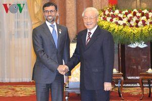 Tổng Bí thư, Chủ tịch nước tiếp Bộ trưởng Bộ Năng lượng và Công nghiệp UAE
