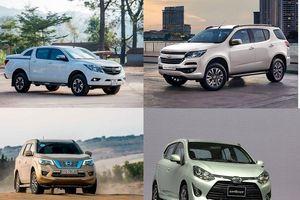 Hàng loạt mẫu xe giảm giá tại Việt Nam