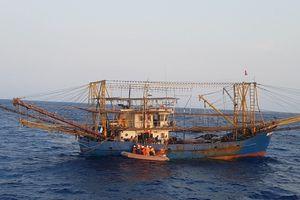 Cứu ngư dân 19 tuổi bị chấn thương cổ trên tàu vỏ thép